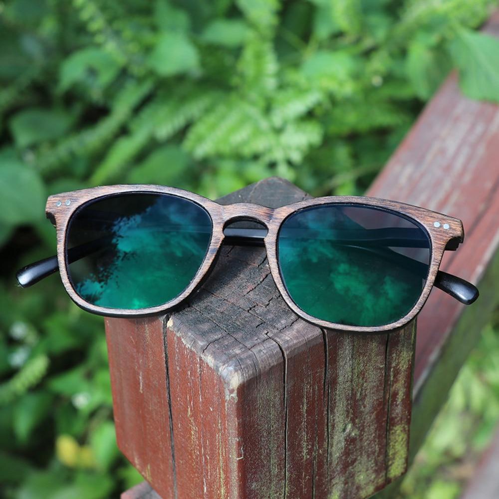 fca976b77210f VIDA   Retro Falso grão de madeira CLARA estrutura de Inteligência  Multifocal Progressiva Bifocal Óculos de Leitura Comercial + 1 + 1.25 A + 3  em Óculos de ...