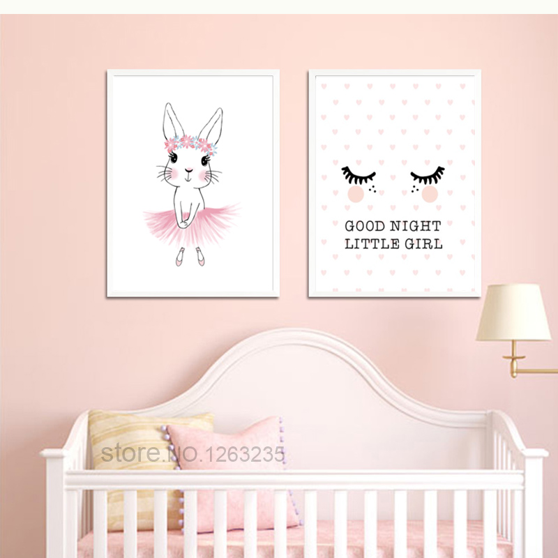 Baby Girl Room Cuadros Decoracion Salon Posters And Prints Kids Room Nordic Poster Decor Wall Pictures For Living Room Unframed