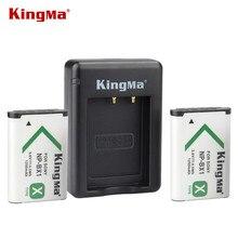 KingMa 2 ШТ. NP-BX1 НП BX1 Аккумулятор + Зарядное Устройство Для Sony DSC-RX100 IV RX10 II HX50 HX300 СН1 CX240E HDR-AS15 AS30V