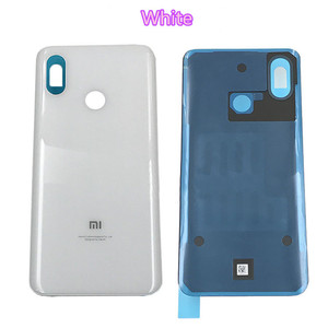 Image 2 - Original New For Xiaomi Mi8 Mi 8 Spare Parts Battery Back Cover Door 3D Glass Phone housing case battery cover free shipping