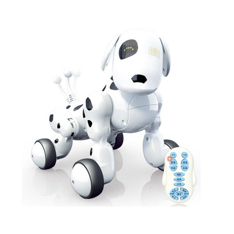 Télécommande sans fil Intelligent Robot chien électronique Intelligent 2.4G parlant Robot chien jouet enfants jouet électronique Pet cadeau d'anniversaire