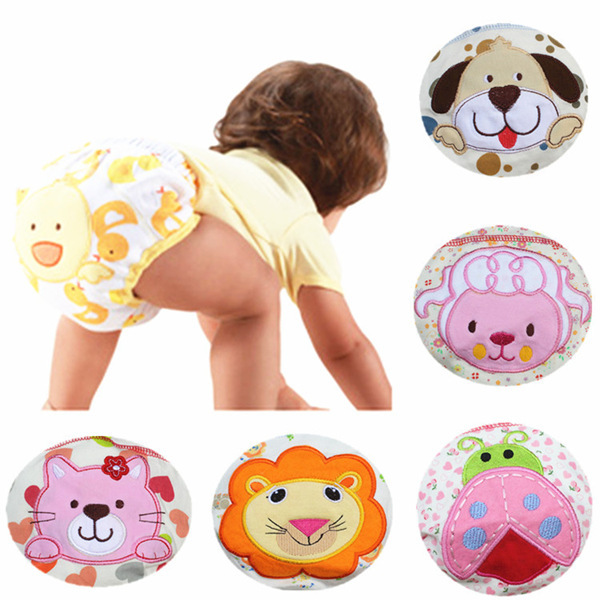 Diapers baby boy girl diaper children underwear reusable nappies training pants panties for toilet training child cloth diapers