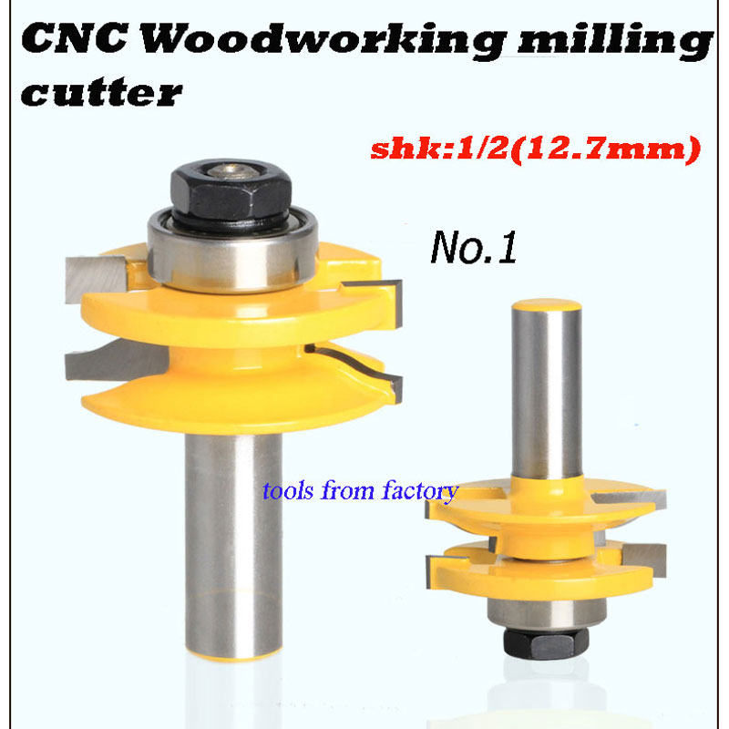2pcs engraving machine tools wood slotting router bits woodworking cutter 1pc 1 2 7 8 woodworking cutter cnc engraving tools cutting the wood router bits 1 2 shk