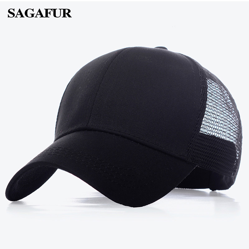 Baseball Cap Women Men Snapback Caps Classic Polo Style Hat Casual Sport Outdoor Summer Mesh Hats Adjustable Cap Fashion Unisex