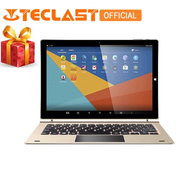 "Teclast Tbook 10 s 2 в 1 Ultrabook Intel Trail T3-Z8350 Windows 10 и Android 5.1 4 ГБ/64 ГБ PC WI-FI HDMI 10.1 ""Tablet PC"