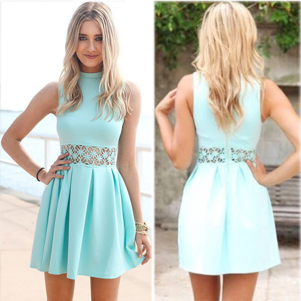 Baby Blue Dresses For Women