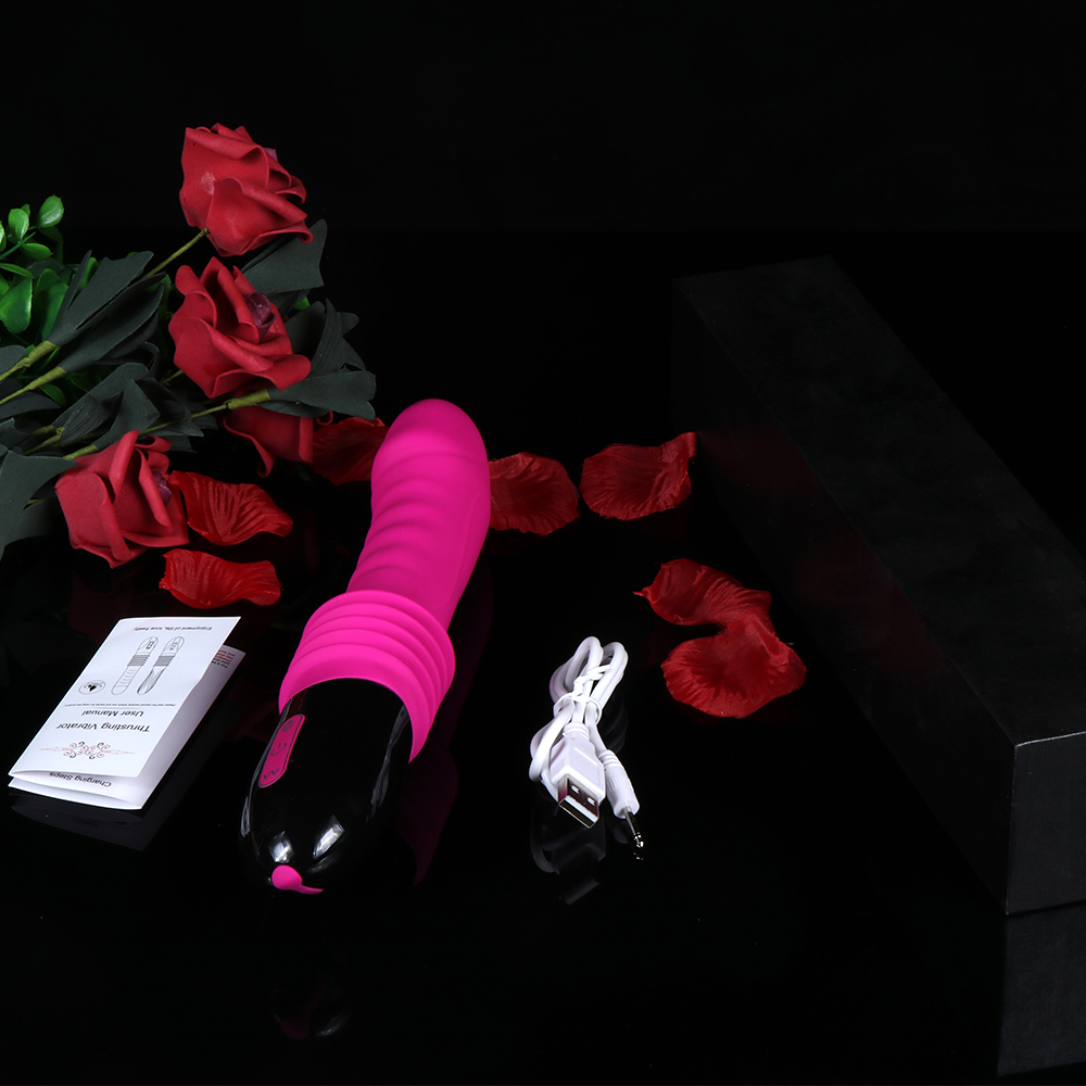 2019 New Adult Products Vibration Telescopic Stick Ladies Masturbation Vibrator Orgasm Excited Masturbation Sex Toys in Vibrators from Beauty Health