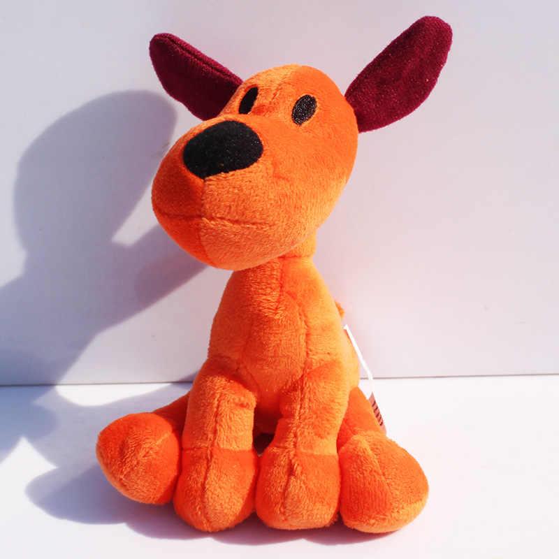 5 pçs/lote 14 cm Loula Pocoyo Boneca Cachorro de Pelúcia Brinquedos de Pelúcia Macia Para crianças Frete Grátis