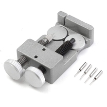 Watch Band Strap Link Pin Remover Watch Repair Tool Strap Adjust Tool Metal Come With 4 Spare Pins цены