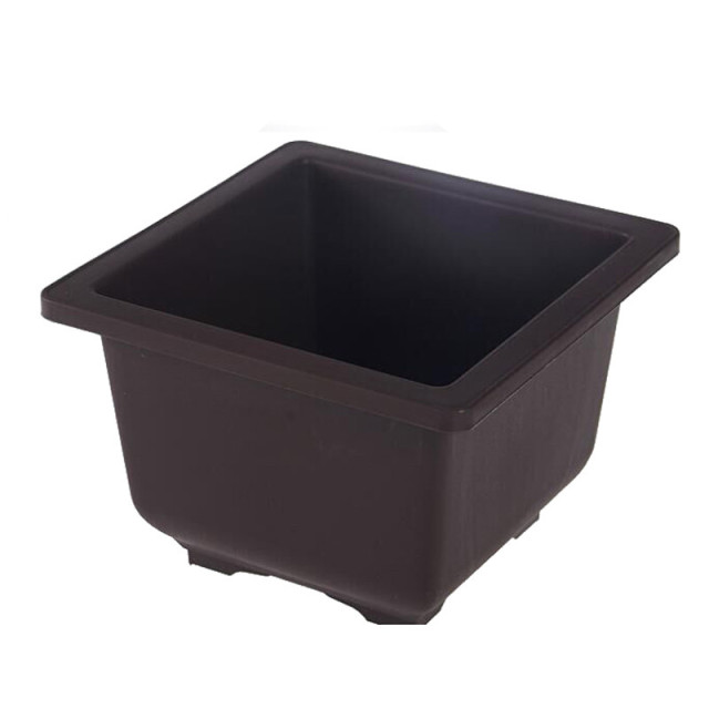 Imitation Plastic Flower Pot Balcony Square Flower Bonsai Bowl Nursery Basin pots Planter Rectangle Flower Pots
