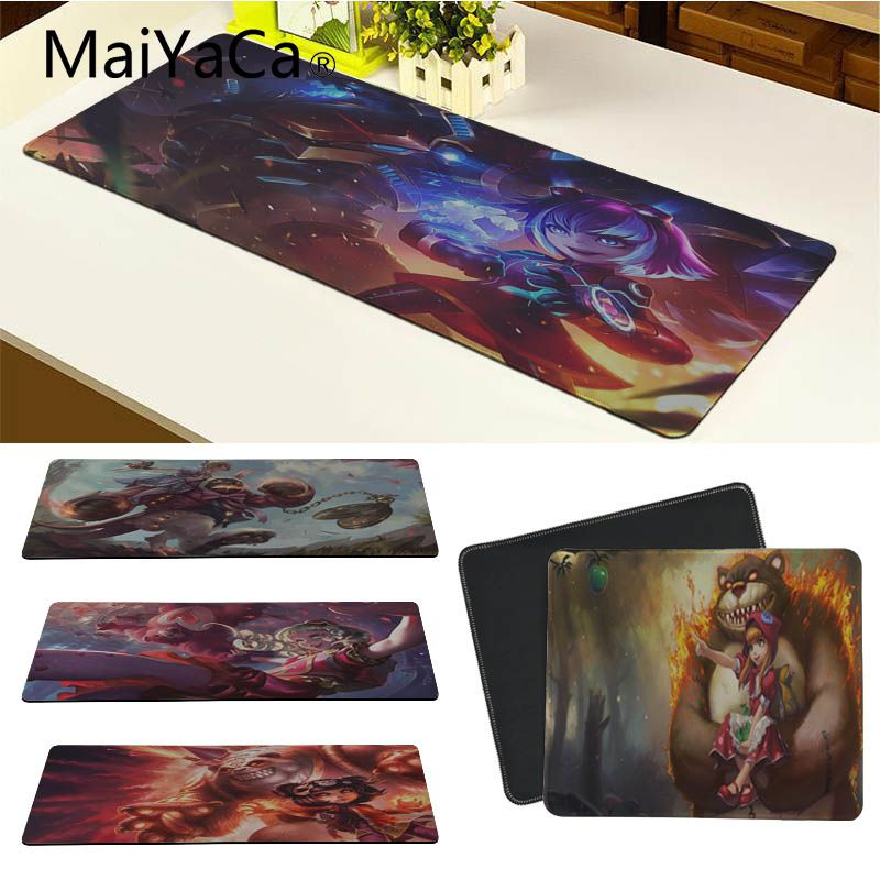 MaiYaCa Custom Skin Annie Laptop Gaming Mice Mousepad Size for 18x22cm 20x25cm 25x29cm 30x90cm 40x90cm
