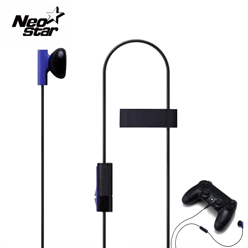 Fashion Design Original Headphones with Microphone Stereo Headphone Headset for Playstation 4 PS4 original headphone bluedio t2 headphones version 4 1 wireless headset stereo earphones with microphone handsfree calls