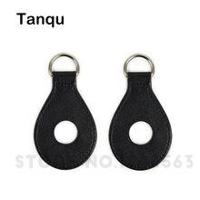 Tanqu Новый 1 пара 2 шт. искусственная кожа падение образный приложение с отверстиями для obag плечевой ремень для вывода сумка Для женщин сумка