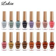 Nail Polish Transparent Light Makeup Candy Color Fashion Armor Shiny Piece Unpeelable Micro Rubber uv gel nail polish