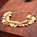 Brief accessories scrub heart bracelet 18k gold bracelet women's bracelet