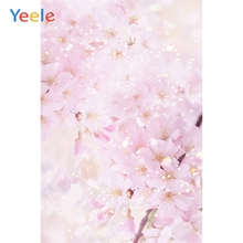 Yeele Pink Cherry Blossoms iIllustration Photography Backgrounds Art Painting Wedding Photographic Backdrops For Photo Studio