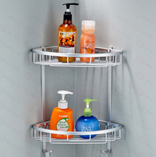 Space aluminum bathroom shelf jiaojia tripod