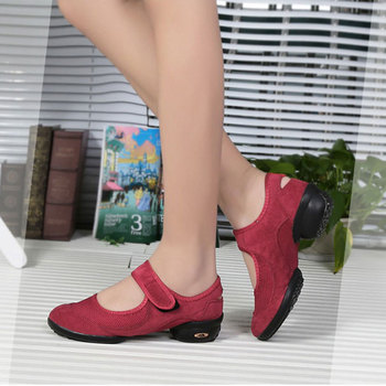 New Arrive  Advanced Dancing Shoes for Women Sneakers for Woman Dancing Ladies Shoes Dance Rubber Jazz Hip Hop Shoes