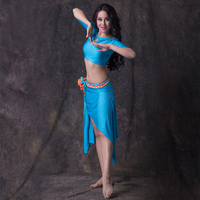 Belly Dance Costumes 2016 New Summer Adult Female Skirt Skirt Dress Code Training Clothes