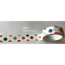 shipping free washi tape,Anrich washi tape #6672