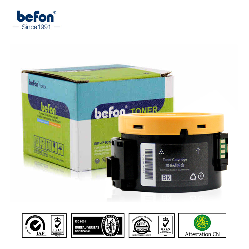 befon P105B Navulpatroon compatibel voor Xerox Phaser 3010 3040 workcentre 3045 printer tonercartridge met chip