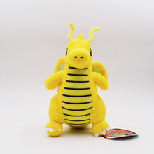 Cartoon Plush Toy Dragonite 9″ Cute Collectible Soft Pikachu Charizard Stuffed Animal Doll Peluche For Children's Gift