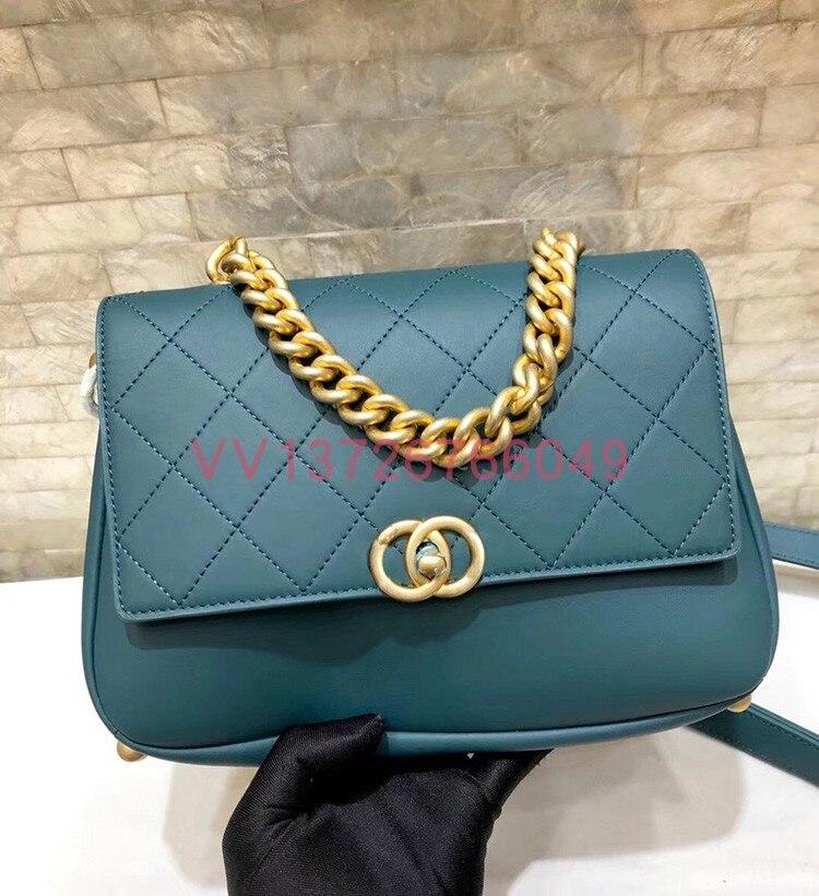 100 Frauen Mode Marke Handtasche Berühmte Top Qualität Designer Runway Weibliche Schwarzes Geldbörsen 2 Klassische Luxus Echt Wa0475 Leder qRqXzx0