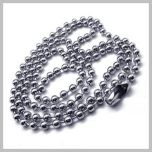 50pcs Lot Ball Chain 2.4mm Regular Thickness 50cm 20