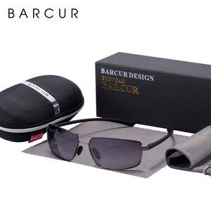 Image 3 - Barcur cutom óculos de sol homem condução máscaras masculino óculos de sol para homem