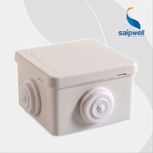 80*80*50mm  Waterproof Hinged Plastic Box/Waterproof Enclosure with Four Holes  SP-P1-808050