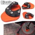 SSE-KT002-OR Motorcycle CNC Aluminum Side Stand Enlarge Orange For KTM DUKE 125 200 390 2013 2014 2015