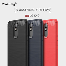 For LG K40 Case Soft 5.7 Silicone Coque Fundas K12 Plus Phone Cover