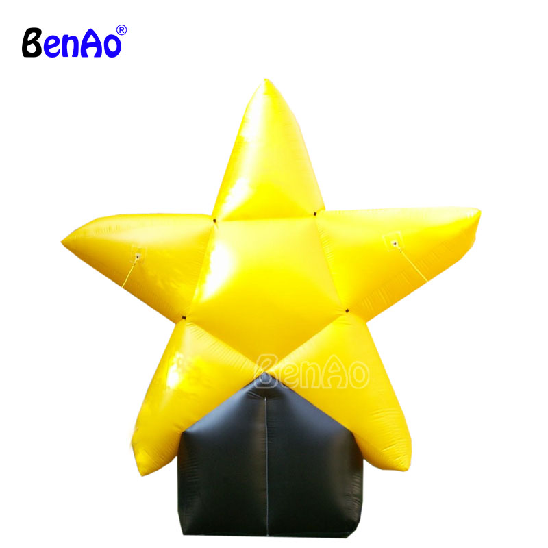 Z114 Factory price party decoration inflatable star,Inflatable star ground balloon.adver ...