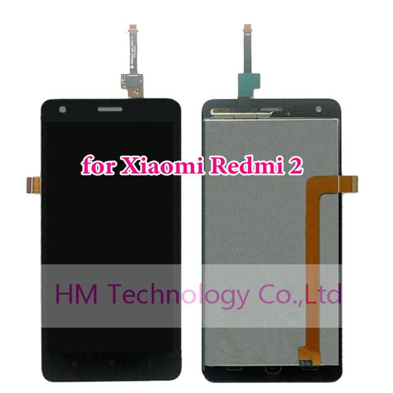 Black LCD TP for Xiaomi Redmi 2 4 7 LCD Display Touch Screen Glass Digitizer Assembly