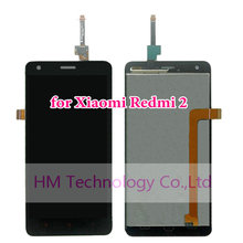 Black LCD+TP for Xiaomi Redmi 2 /4.7″ LCD Display+ Touch Screen Glass Digitizer Assembly Red Rice 2 Redmi2 Repair Free Shipping