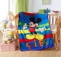 Promoção! desenhos animados Mickey Gatinho velo coral cobertor do bebê meninos menina bonito dos desenhos animados moda infantil cobertor colcha de bebê meninos menina