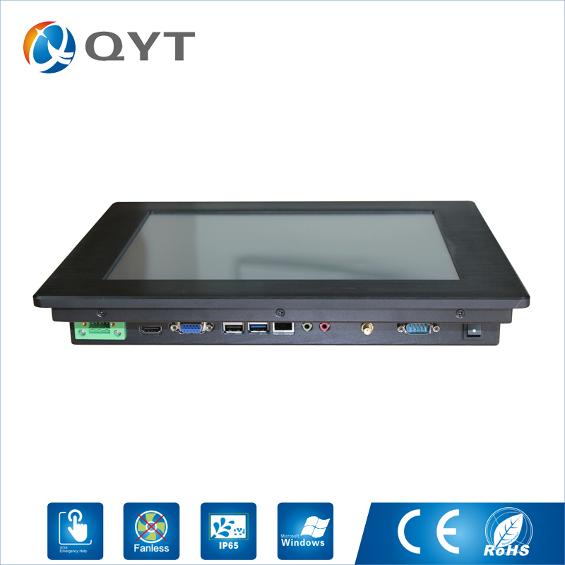 Factory Direct 3855U 500G HDD 8GB DDR4 RAM Wince and Linux System Lcd Mounted Touch Screen Industrial Panel Pc HD Graphics 510