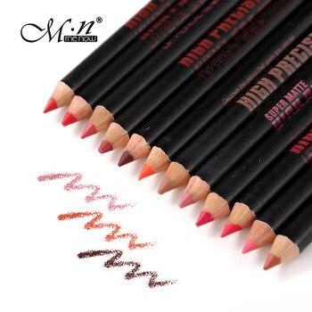 144pcs/lot Menow Super Matter High Precision Lipliner Makeup Natural Long Lasting Waterproof Wooden Lip Pencil P103 Wholesale
