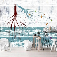 Black and White Wall Decor Tree Wallpaper for Walls abstract 3d Wallpaper for Bedroom Dining Room Wall Art Restaurant Wall Paper