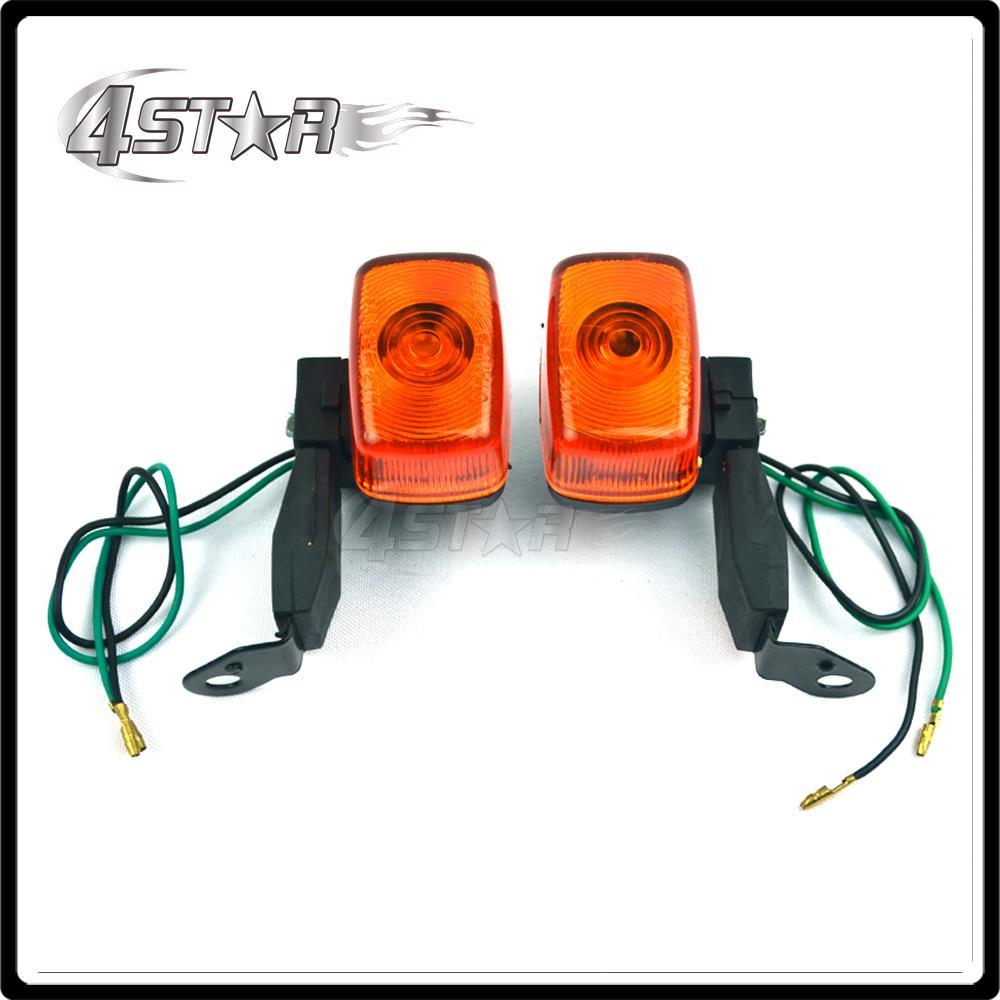 Front Rear Turn Signal Lights Indicator For XT225 Deer 225 TTR250 KLX250 XR250 Motorcycle Racing Street Bike