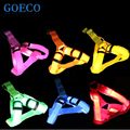 1X Bright light Led Dog Harness Safety Dog Pet Belt Harness with Novelty Led  Light for New Year