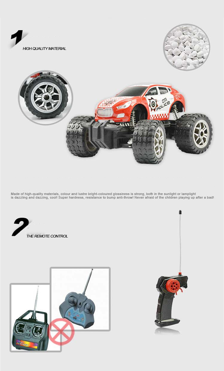 RC Car Bigfoot Doodle Climbing Car Toys 4 Wheel Drive Remote Control Car Structure Sport Utility Vehicle Model Kids Best Gift (6)