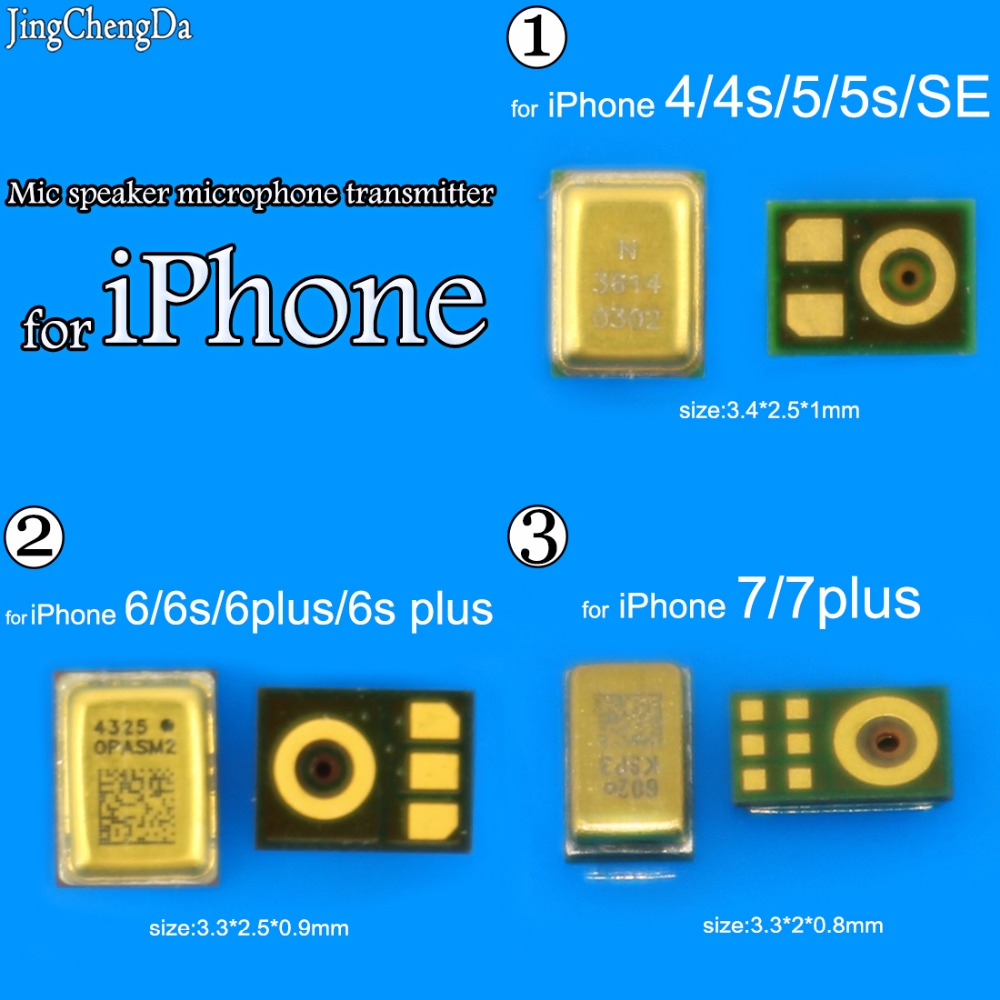3pcs New Microphone Internal MIC Speaker For IPhone 4 4S 5 5G 5S 5C SE 6 6G 6S 4.7