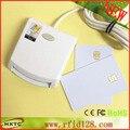 Свяжитесь с EMV SIM ид Smart Chip Card Reader Писатель Программист N99 ISO7816 Памяти Чип-Карты С 2 ШТ. Тест Карты и SDK Комплект