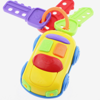 Car Wheel Are Slidably Music Key Car Colorful Color Baby Toys Perception Exercises Cars BYC050 PT50