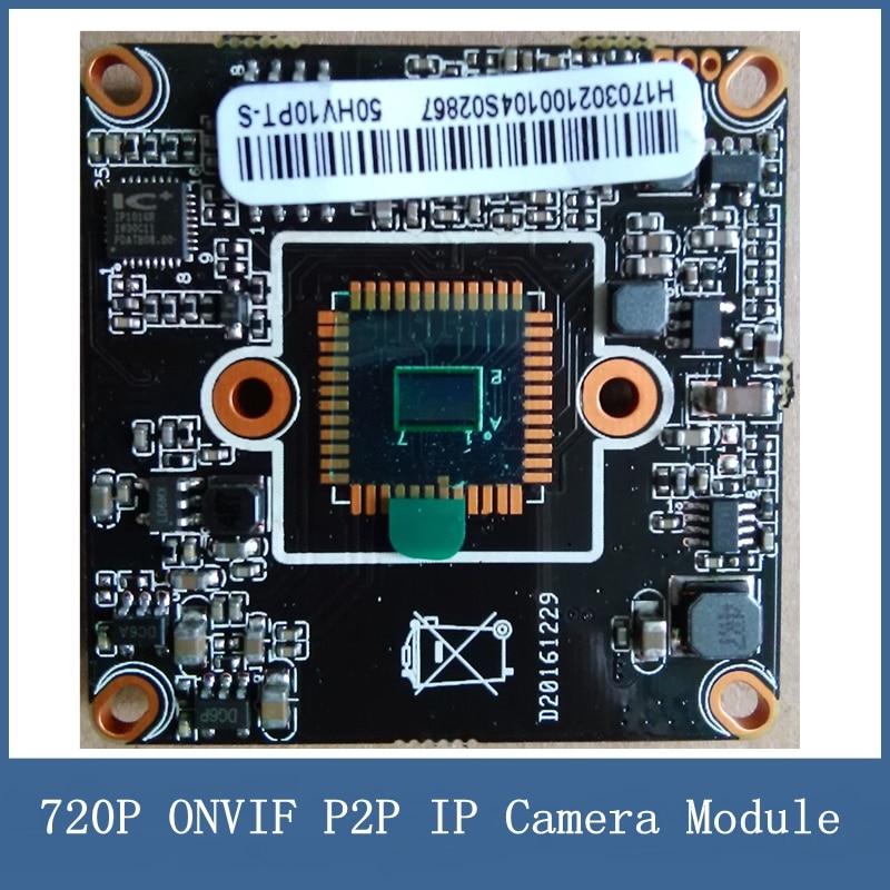 где купить  720P ONVIF P2P IP Camera Module , DIY Main Circuit Board PAL HI3518EV200+H62 Chip + 1/4