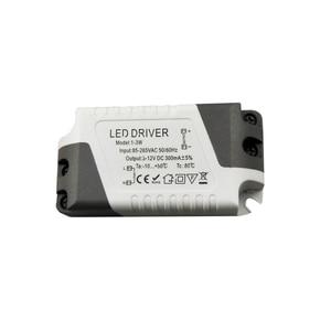 Image 2 - Adaptateur dalimentation à courant Constant, pilote de LED 3 W 36 W 85 265V 300mA, transformateur de lumière, adaptateur dalimentation Constant pour léclairage de la bande