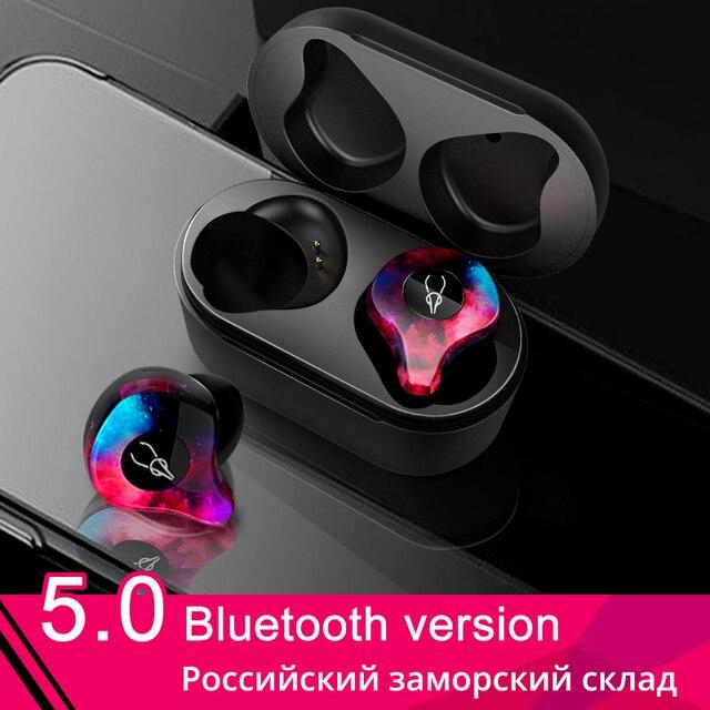 original Sabbat X12 TWS 5.0 Bluetooth Earphone Sport Waterproof True Wireless Earbuds Stereo In ear for Samsung Phone PK E12