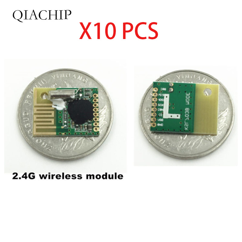 3pcs 2.4G wireless data transmission Communication module and low cost Using chip KSL297 similar NRF24L01 For remote controls-in Remote Controls from Consumer Electronics