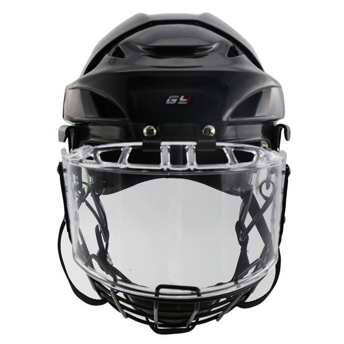 Prix pour 2017 Livraison Gratuite New style Hockey Sur Glace Lecteur Casque avec visage masque visière
